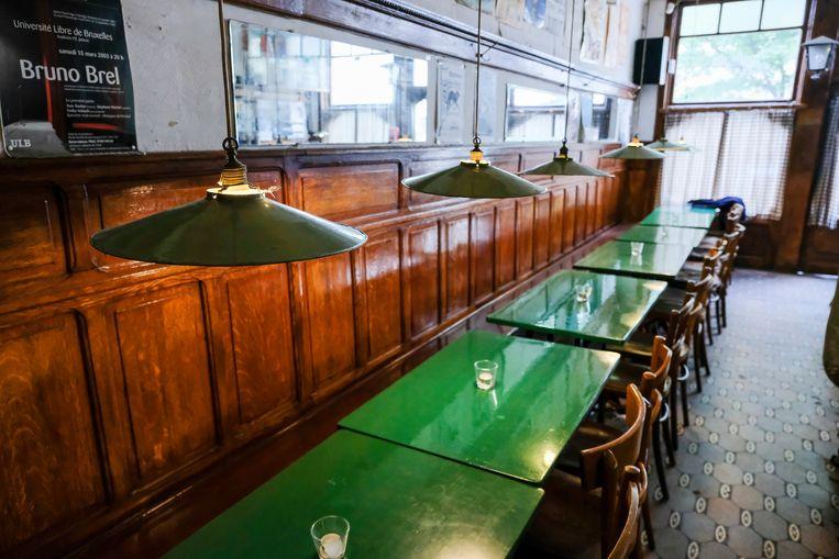 Le Café de la Rue in Brussel. Beeld Marc Baert