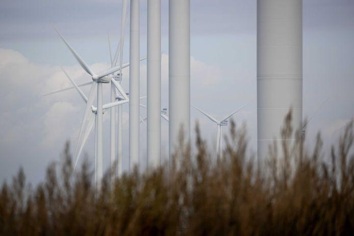 Windmolens ter illustratie