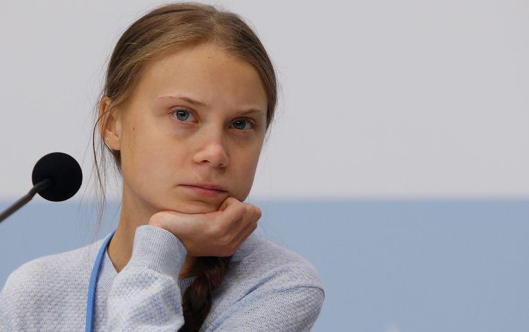 Greta Thunberg. Beeld Photo News