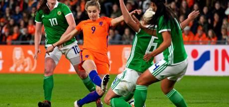 Oranje Leeuwinnen in Heerenveen tegen Slowakije