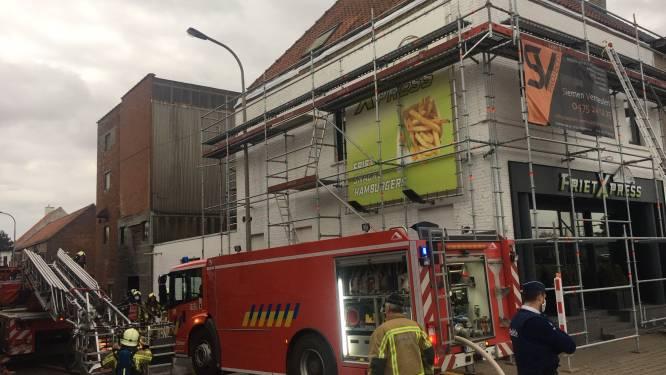 Afvoer kachel zorgt voor brand in woning vlakbij station van Ingelmunster