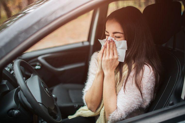 Zo voorkom je dat je last krijgt van hooikoorts in de auto Beeld Getty Images/iStockphoto