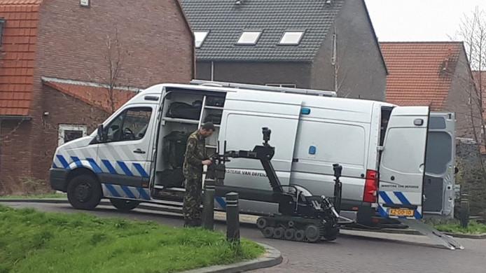 Op maandag 9 april werd het Kwelderplantsoen in Berkel en Rodenrijs ontruimd vanwege een verdacht pakketje met een 'instabiele stof'.