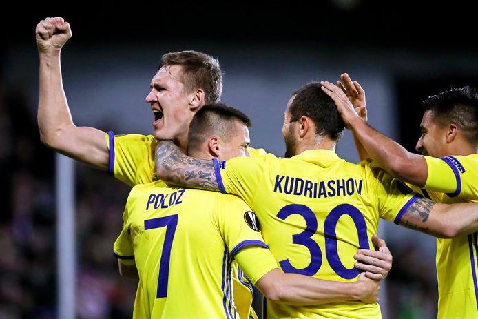 De spelers van FK Rostov.