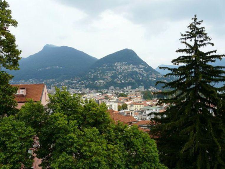 Een blik op Lugano. Beeld UNKNOWN