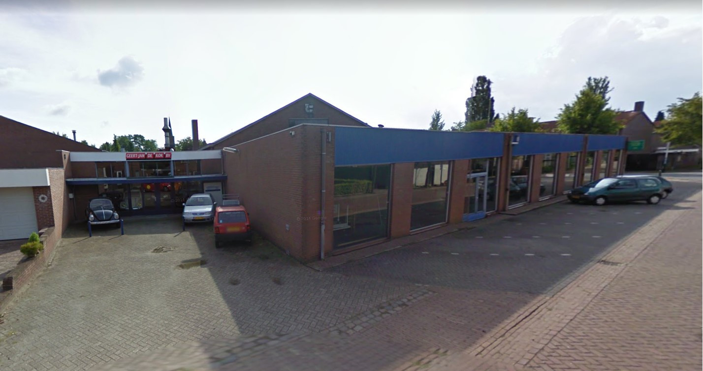 Het terrein gezien vanuit de Spaaneindsestraat in Esbeek.