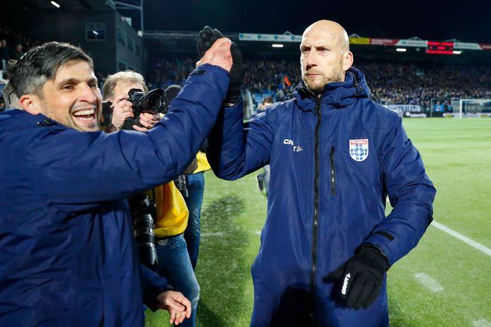 Said Bakkati, assistent-trainer bij PEC Zwolle, volgt het spoor van hoofdcoach Jaap Stam naar Feyenoord.