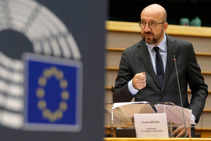Voorzitter van de Europese Raad Charles Michel.