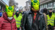 Beperkte opkomst gele hesjes in Brussel: vreedzame betoging zonder incidenten