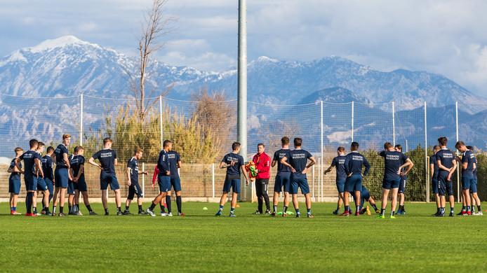 Trainingskamp Go Ahead Eagles in Belek