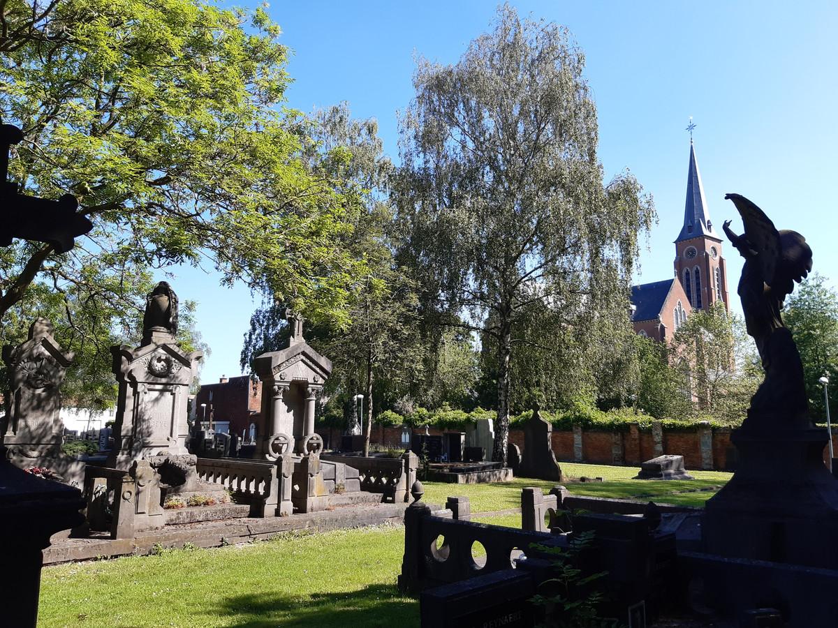 De parkbegraafplaats Tereken in Sint-Niklaas.