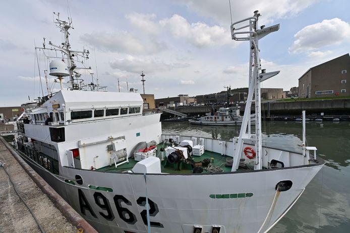 Onderzoeksschip Belgica.