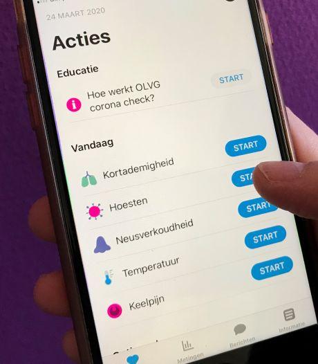 Corona-check-app CWZ groot succes: alarm waar nodig, maar ook broodnodige geruststelling