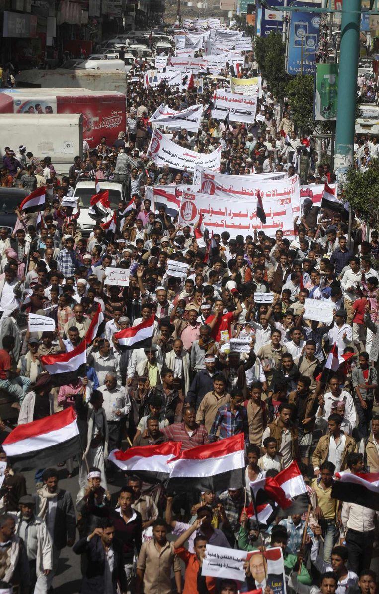 De Arabische Lente in Jemen.