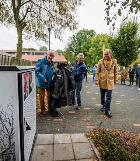 Grijze kastjes in Hengelo als eerbetoon aan Jo Niks: 'Hij maakte de tekeningen om te laten zien'