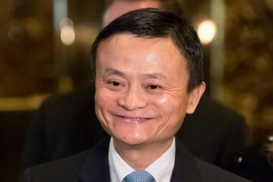 Multimiljardair Jack Ma geldt als de Bill Gates van China.