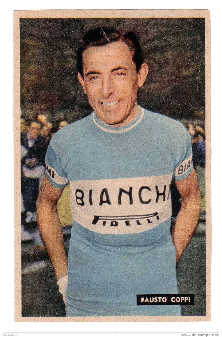 Fausto Coppi won vijf Giro's en behaalde twee eindzeges in de Tour.  Beeld Ianthe Bato