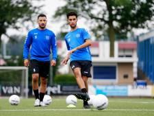 Achraf Nejmi geniet bij eerste training GVVV. 'De club wil dat ik de baas word op het middenveld'