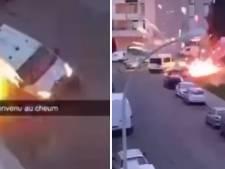 Un fourgon de police attaqué par des tirs de mortier à Nîmes