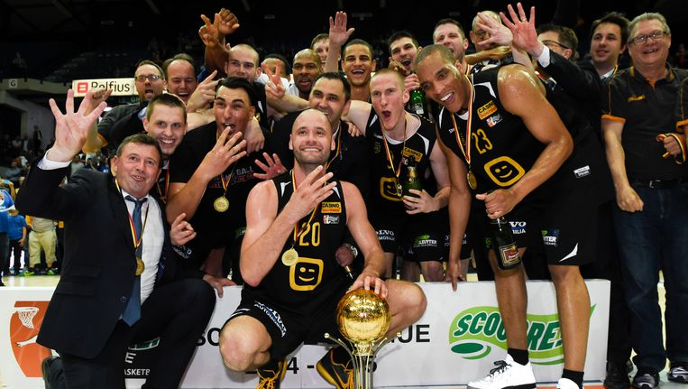 Basketbalkampioen Oostende treft onder meer het Italiaanse Varese en het Hongaarse Szombathely Beeld BELGA