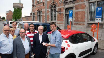 Stad en Cambio stellen twee deelauto's voor in Oudenaarde