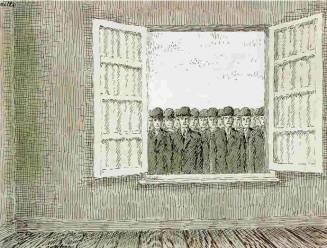 Peperduur schilderij René Magritte dinsdag onder de hamer bij Christie's in Londen