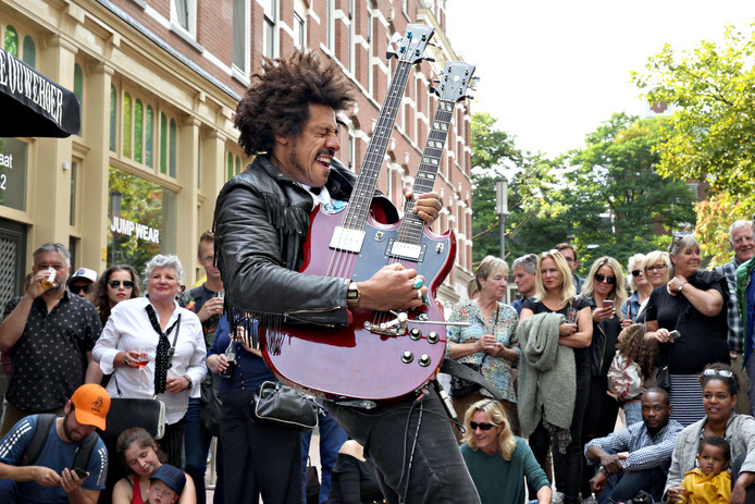 Foto ter illustratie: Internationaal straatmuzikantenfestival in Rotterdam (2017).