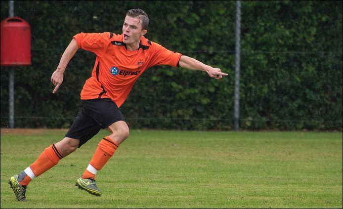 Thymo Zeelen in het shirt van Vitesse'08.