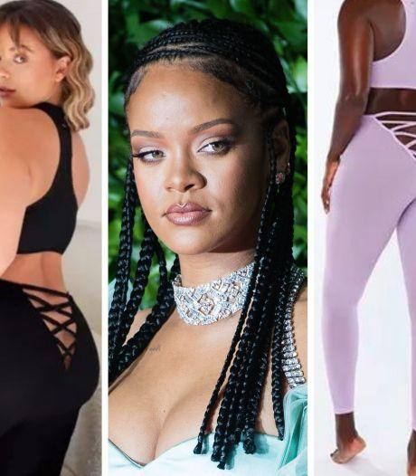 """Le legging """"décolleté de fesses"""" de Rihanna fait débat"""