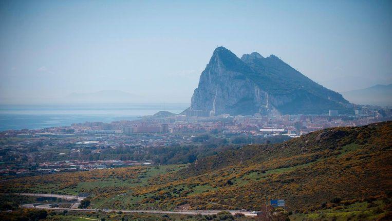 In het Britse overzeese gebied Gibraltar stemde 96 procent van de inwoners tegen een Brexit. Beeld afp