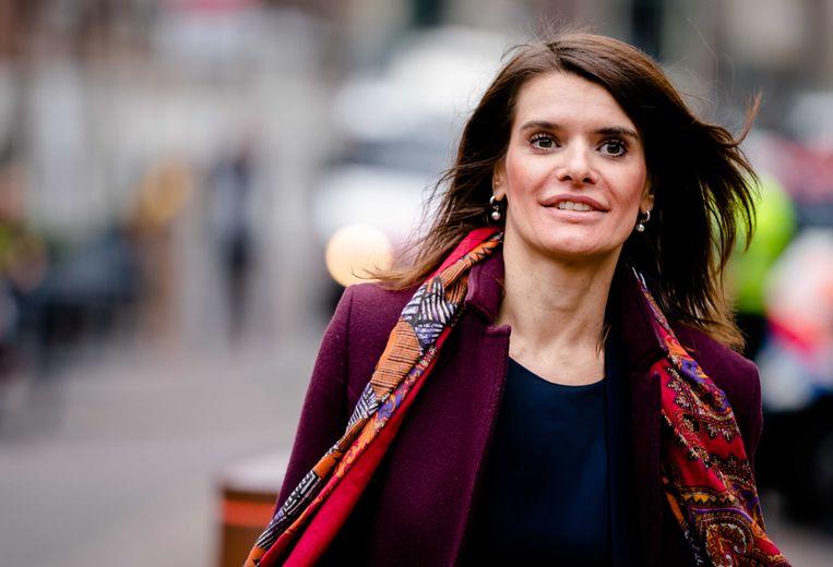 Staatssecretaris Barbara Visser van Defensie (VVD). Beeld ANP/Bart Maat