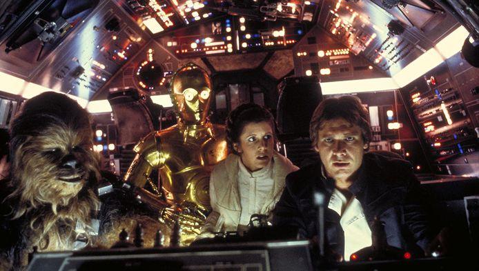 De Millennium Falcon van 'Star Wars'-held Han Solo reist door de hyperspace, maar de mensheid zal het hem nooit nadoen
