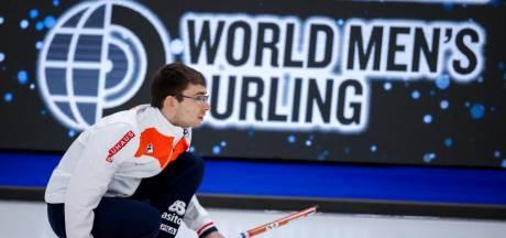 Curlingmannen verliezen op WK ook van Zwitserland