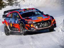 Arctic Rally: Thierry Neuville sur le podium, la victoire pour Tänak