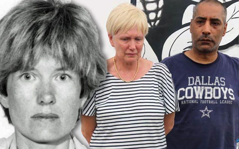 Hilde Van Acker en Jean-Claude Lacote bij hun arrestatie Beeld Gendarmerie Nationale de Côte/Europol