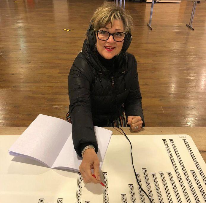 Burgemeester Ada Grootenboer van Goeree-Overflakkee heeft haar stem bepaald