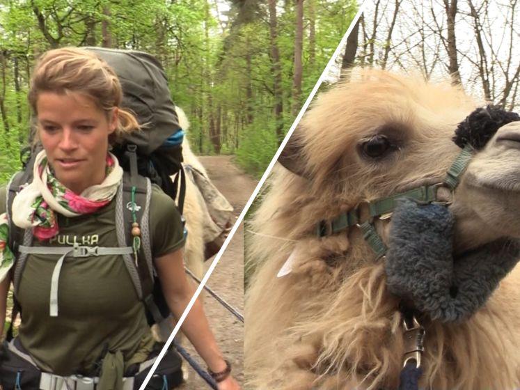 Tamar gaat op avontuur met kameel Einstein: 'Heel Nederland wordt blij van hem'