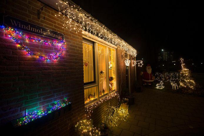 Kerstverlichting in Doesburg.