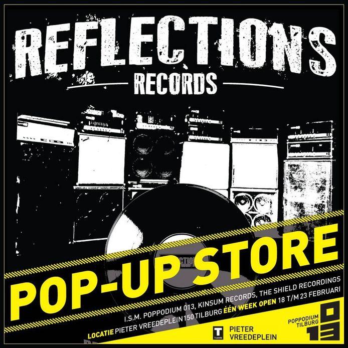 Pop-Up Store voor punk en metal aan het Pieter Vreedeplein