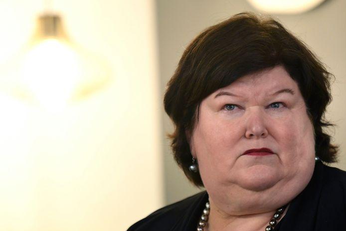 La ministre fédérale de la Santé publique Maggie De Block (Open VLD).