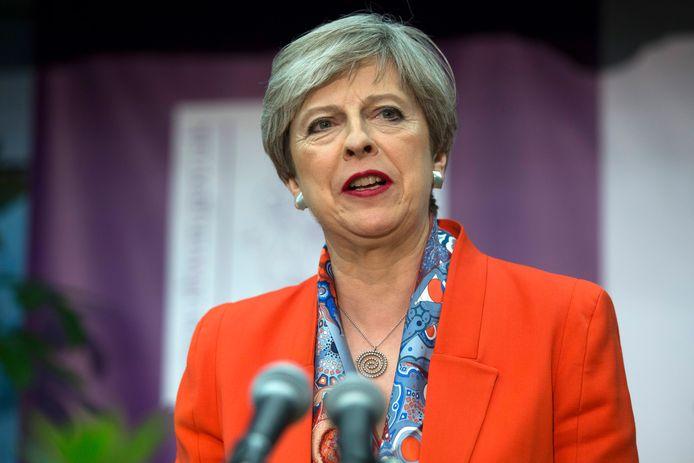 Theresa May geeft vrijdagochtend een toespraak waarin ze zegt dat het land stabiliteit nodig heeft.