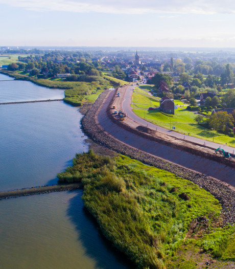 'Nieuwe provinciale weg tussen Kinderdijk en Groot-Ammers kan dorpen aan de Lek ontlasten'