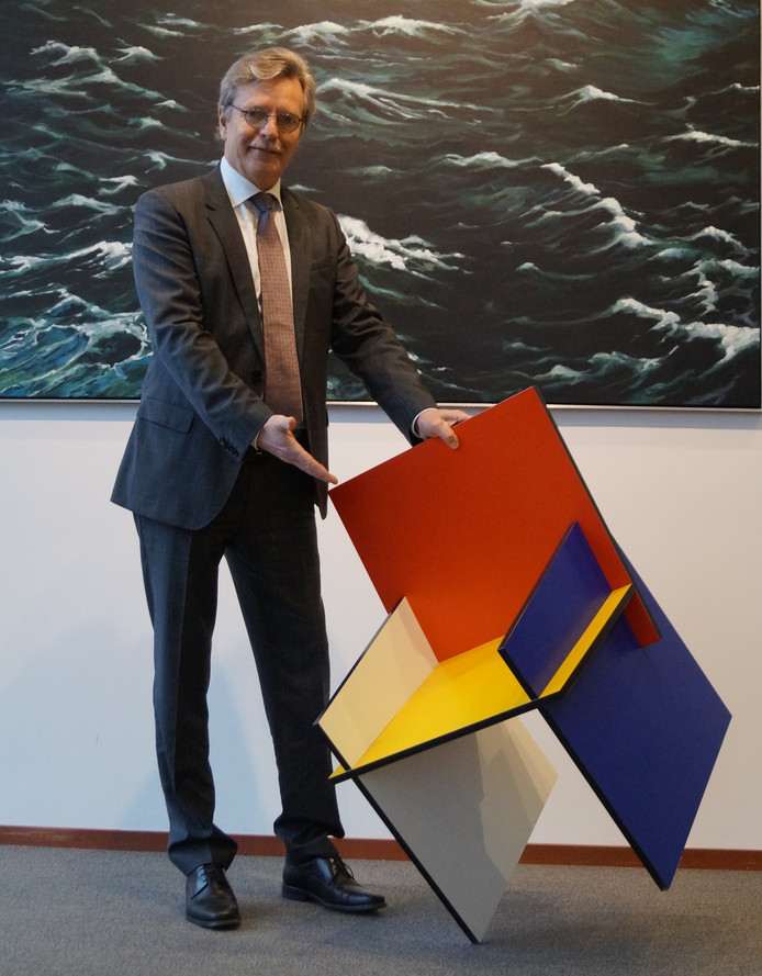 Geliefde Noordoostpolder viert 75-jarig bestaan in Mondriaan stijl JP02