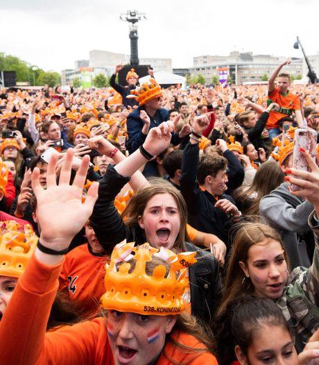 4 van de 10.000 gelukkigen: zij staan volgende week op het Chasséveld tijdens 538 Oranjedag