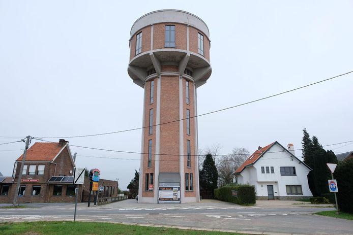 In de voormalige watertoren in Steenokkerzeel zal je binnenkort kunnen overnachten.