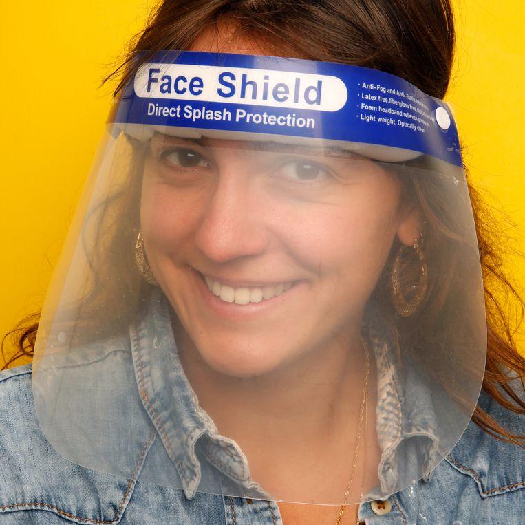 'Face shield' van Executieverkoop Utrecht. Beeld Studio V