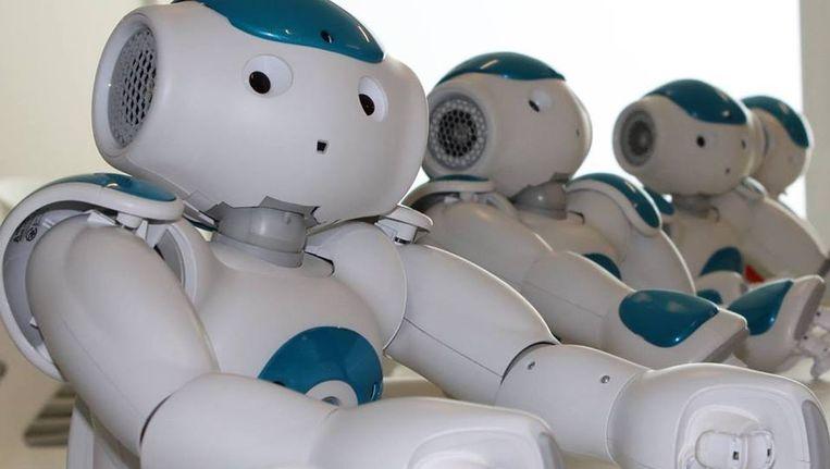 Een Zora robot. Beeld Facebook Zora Qbmt