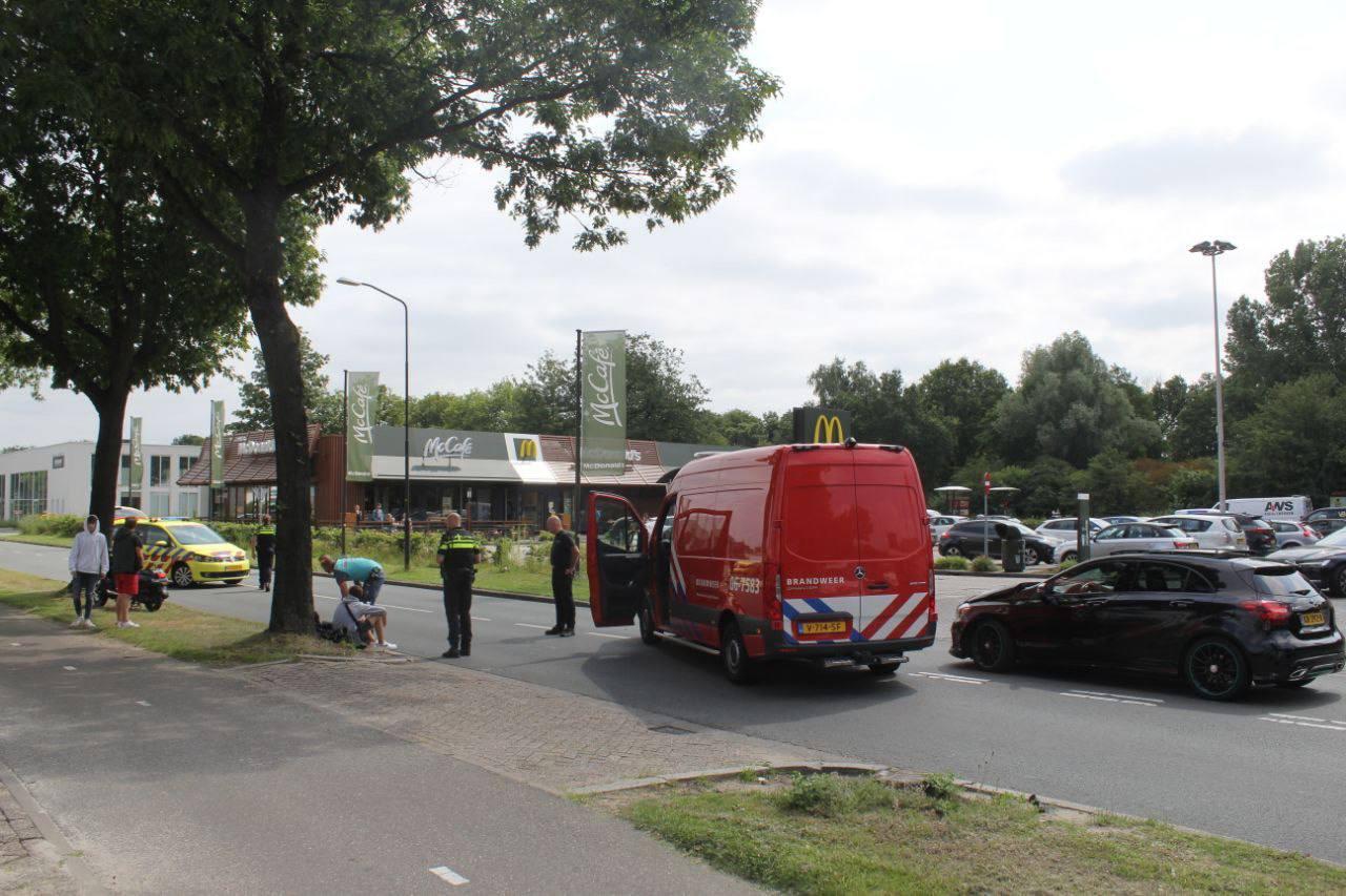 Het ongeluk vond plaats vlak bij het restaurant van McDonald's.