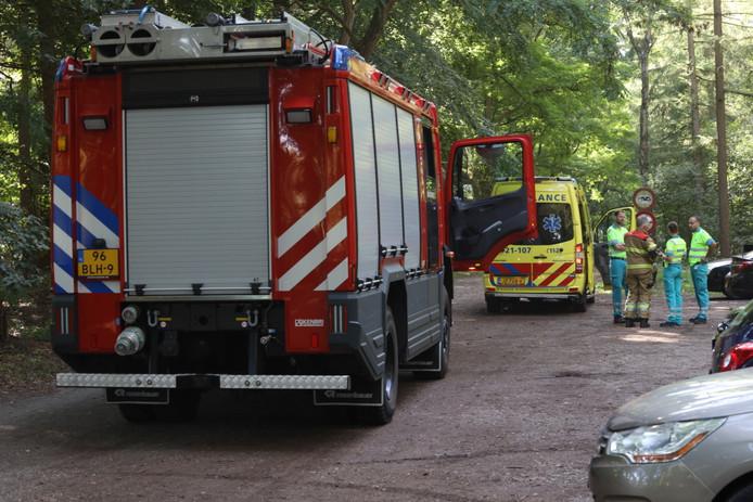 De brandweer moest op zoek naar de vrouw