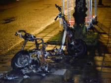 Opnieuw leenscooter afgebrand in Breda